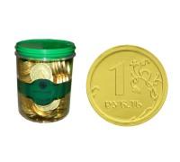 РУБЛЬ монеты шоколадные  6гр