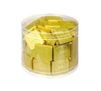 Слитки  шоколадные в банке  15гр