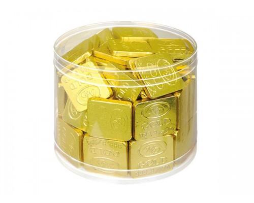 Слитки  шоколадные в банке  15гр[1/100шт]