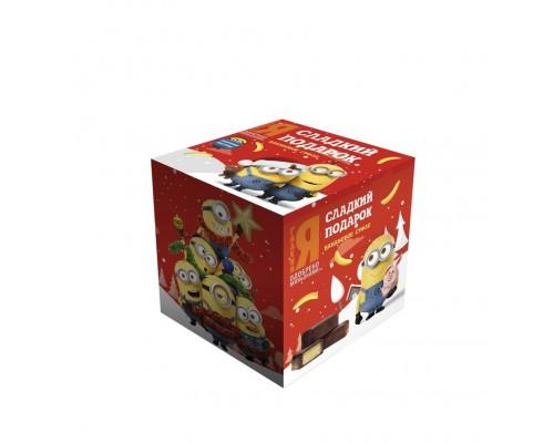 МОК Банановое суфле в коробочке с сюрпризом  100гр