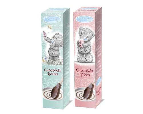 МОК Шоколадная Ложка Me to You молочный шоколад, 25гр.