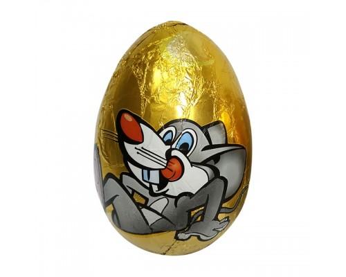Шоколадное яйцо с сюрпризом Забавные Мышата  90гр[1/24шт]
