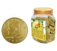 Шоколадные монеты 1 ДОЛЛАР 6гр