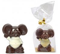 Шоколадная фигурка  из бельгийского шоколада МЫШАСТИК 40гр