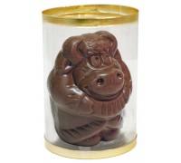 Шоколадная фигурка  БЫЧОК С ГАРМОШКОЙ в тубе 40гр
