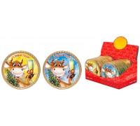 Шоколадная медаль ВЕСЕЛЫЕ КОРОВЫ 25 гр
