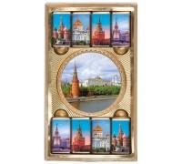 МОСКВА набор из медали и  мини шоколадок 65гр