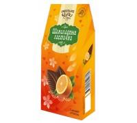 Шоколадные Листочки  с апельсином  72гр