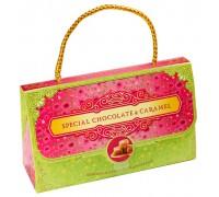 КЛАТЧ- набор мини шоколадок с карамелью  75гр