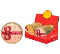 Шоколадная медаль С 8 МАРТА 25гр
