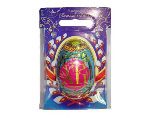 Яйцо шокол. ХВ в подарочной сумочке 90гр[1/10шт]