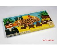 Шоколад молочный Steenland Пираты 90гр