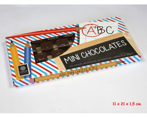 Шоколад  молочный Steenland Английский Алфавит 90гр