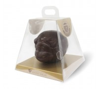 """Шоколадная фигурка Бычок """"Бублик"""" в подарочной упаковке 140гр"""