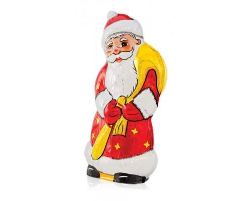 Шоколадная фигурка  Дед Мороз с сюрпризом 90гр шоу-бокс[1/12шт]