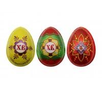 Яйцо шоколадное С Пасхой в формованной фольге 20гр