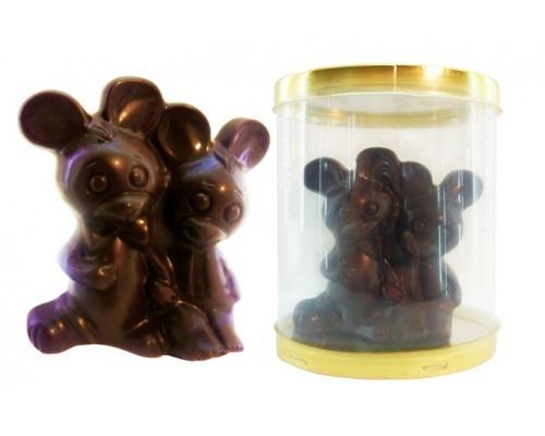 Шоколадная фигурка Мышки-Милашки в подарочной упаковке 50гр[1/8шт]