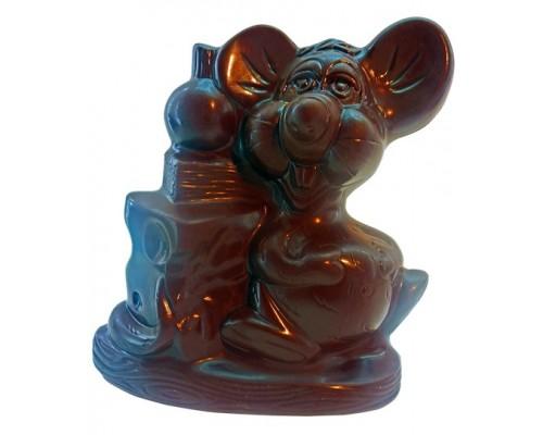 Шоколадная фигурка Мышка-Малышка в подарочной упаковке 30гр[1/12шт]