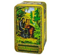 Чай Сергей Радонежский и Медведь черный чай 100гр.