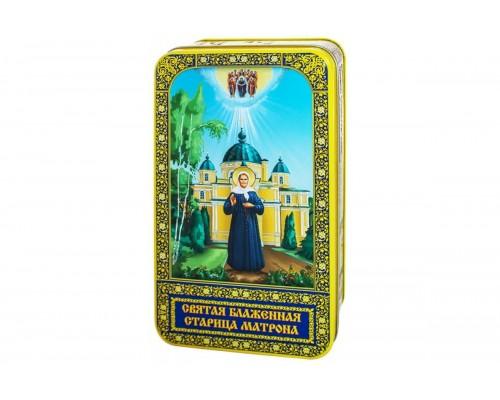Чай Матрона  подарочная шкатулка  100гр.