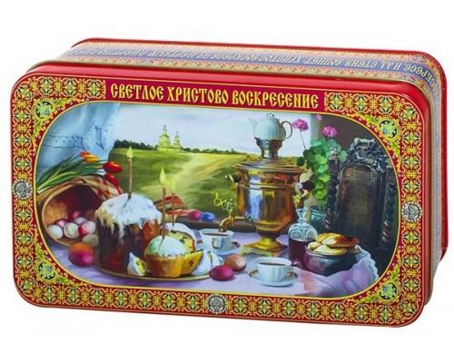 Чай Светлое Христово Воскресенье подарочная шкатулка жесть 100 гр