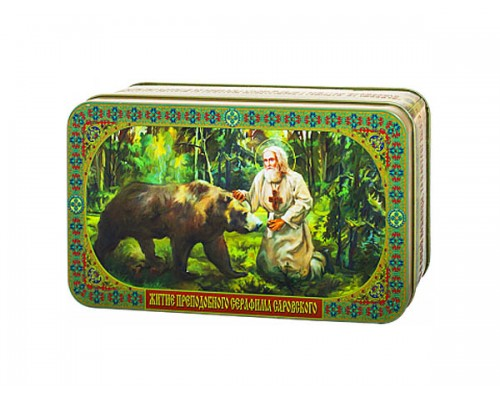 Чай Преподобный Серафим Саровский и медведь 100гр.