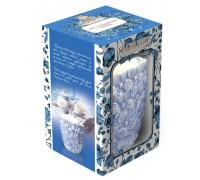 Чай Тибриз Земляника со сливками Цветы Керамическая чайница 100гр