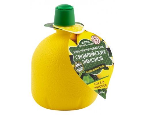 Сок сицилийских лимонов 200мл