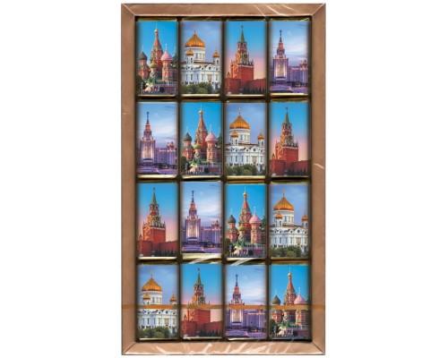 МОСКВА- набор мини шоколадок 80гр